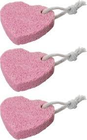 """<b>Пемза</b> для педикюра 3 штуки ,""""<b>Сердечки</b>"""",розовые — купить в ..."""