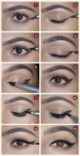 winged eyeliner 12 diffe eyeliner tutorials you 39 ll be thankful for makeup tips tricks at