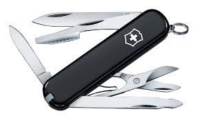 Купить <b>нож перочинный executive</b> 74мм 10 функций (черный ...