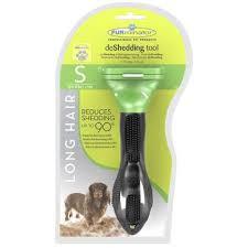 <b>FURminator</b> Deshedding Brush Comb Tool For <b>Long Hair</b> Large Dogs