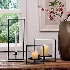 <b>PINNY</b> Modern Simplicity <b>Iron</b> Glass Candle Stand <b>European Metal</b> ...