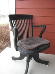 antique oak desk chair with swivel tilt wwwswoonantiquesetsycom batavia antique deco wooden chair swivel