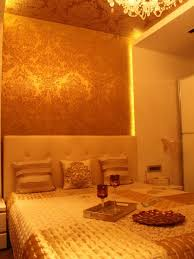 apartment cozy bedroom design: luxurious gold house interior applied in luxurious style of apartment cozy bedroom design soft headboard