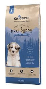 <b>Chicopee Classic Nature</b> Line Maxi Puppy Poultry & Millet 15kg ...