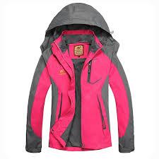 Yougle Women Windproof Camping Climbing Jacket Coat Top ...