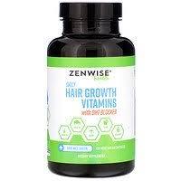 Zenwise Health, <b>Daily Hair Growth Vitamins</b> with DHT Blocker, 120 ...
