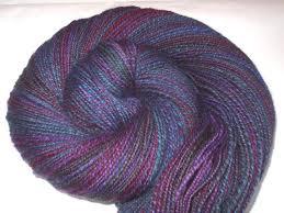 Polwarth handspun yarn, <b>hand painted</b> yarn, CONIMAR, extra soft ...
