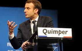 """Résultat de recherche d'images pour """"Macron meeting quimper"""""""