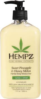 Hempz Sweet Pineapple and <b>Honey</b> Melon Herbal <b>Body</b> Moisturizer ...