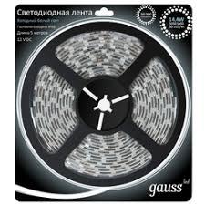 <b>Светодиодные ленты gauss</b> — купить на Яндекс.Маркете