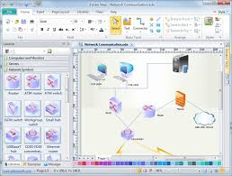 logical network diagrams  free logical network software with    logical network diagram software