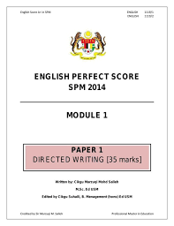 spm english essay example story