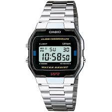 Gents <b>Casio</b> Classic <b>Leisure</b> Alarm Chronograph <b>Watch</b> (A163WA ...