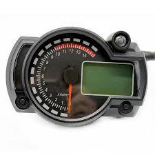 eBay #Sponsored <b>DC12V</b> 15000 r/min <b>Motorcycle speedometer</b> Lap ...