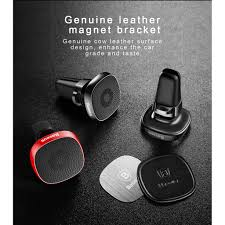 <b>Baseus Privity Series</b> Pro Air outlet Magnet Bracket(Genuine leather ...