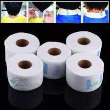 <b>5Pcs</b>/<b>Set</b> Professional Neck Ruffle Paper Rolls Towel Disposable ...