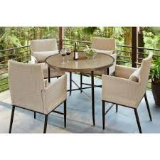 Hampton Bay Aria <b>5</b>-<b>Piece</b> Patio <b>High</b> Dining Set-FCS80223ST ...