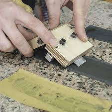 How to sharpen chisels with sandpaper. #sharpen #knife #chisel ...