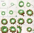 Плетение бисеров по кругу