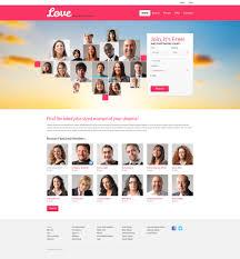 Dating Templates TemplateMonster Dating Responsive Website Template