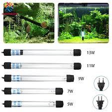 Aquarium <b>UV</b> Sterilizer Light Submersible Water Clean Lamp for ...