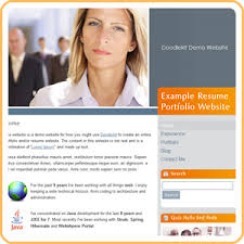 resume websites examples  about me section on resume examples    online resume website examples