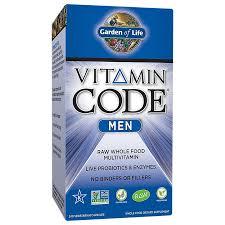 <b>Vitamin Code Men</b> (<b>240</b> Capsules) by Garden of Life at the Vitamin ...