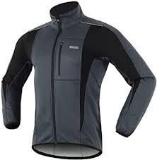 ARSUXEO Winter Warm UP Thermal Softshell Cycling ... - Amazon.com