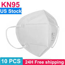 <b>10PCS KN95 N95 Respirator</b> Face Mask Disposable Breathable ...
