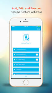 Resume  Free CV Builder With Designer Templates on the App Store iTunes   Apple