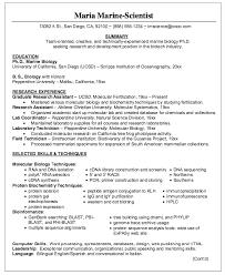 biologist resume sample marine  seangarrette comarine biologist resume sample with research assistant and lab coordinator   biologist resume sample