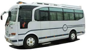 Image result for tata luxury bus price in india white color