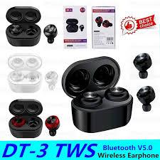 <b>DT</b>-<b>3 Bluetooth Earphone</b> Auto Pairing <b>DT3 TWS Earbuds Wireless</b> ...