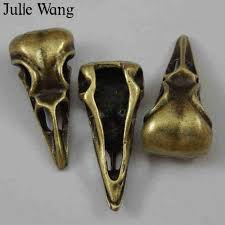 Julie Wang <b>1pcs Black</b> Razor Bade Creative <b>Stainless Steel</b> Charms ...