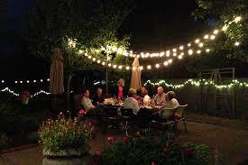 novelty lighting for outdoor entertaining backyard party lighting