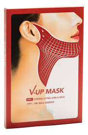 <b>Маска</b> для подтяжки овала <b>лица V</b>-<b>UP</b> Mask Strong Lifting Chin ...