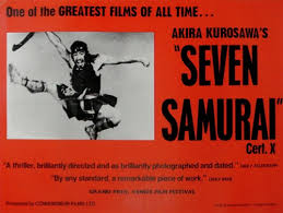 Image result for posters for the seven samurai