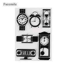 Buy Petsdelite® <b>1Pcs</b> Frame Flowers Stick <b>Clear Stamp</b> Transparent ...