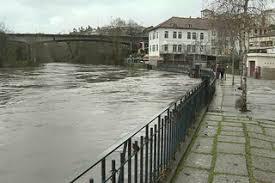 Rio Tua galgou margens na última madrugada em Mirandela
