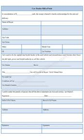 sample car dealer bill of template is available sample car dealer bill of template is available online in both ms word and pdf format bill of forms cars bill o brien