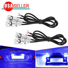 2x led for volkswagen tiguan touareg bora variant auto number license plate light lamp car styling auto lighting part