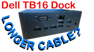 Longer Dell <b>Thunderbolt</b> Dock <b>TB16 Cable</b>? - YouTube