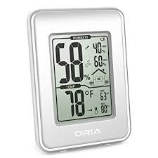 ORIA Digital Hygrometer Thermometer, Indoor ... - Amazon.com