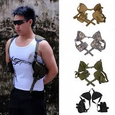 Left Right Hand Tactical Nylon Gun Holster Universal Pistol Carry ...