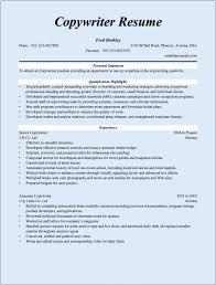 copywriter resume sample copywriter x cover letter gallery of copywriter resume examples