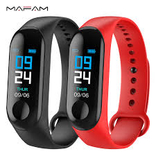 MAFAM M3X <b>Smart Bracelet</b> Blood Pressure <b>Fitness Tracker</b> IP67 ...