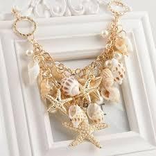 Fashion Luxury Chunky Sea <b>Shell Starfish Pearl</b> Bib Statement ...