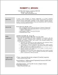 resume  a good objective for a resume  corezume cobest objective statements