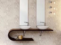 inspiring white three pendant lamp design over mirror and bath bathroom contemporary bathroom lighting porcelain