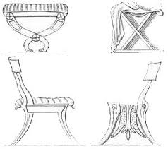 ancient greece furniture drawings ancient greek furniture